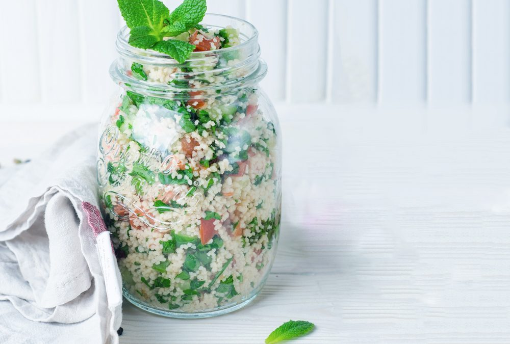 RECIPE: SPRING COUSCOUS SALAD