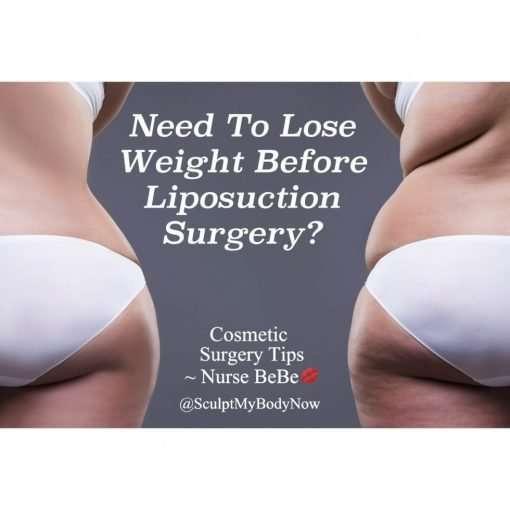 Preparing For Liposuction Surgery